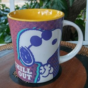 Gibson Kitchen - PEANUTS SNOOPY 'Chill Out' 15 OZ Mug.